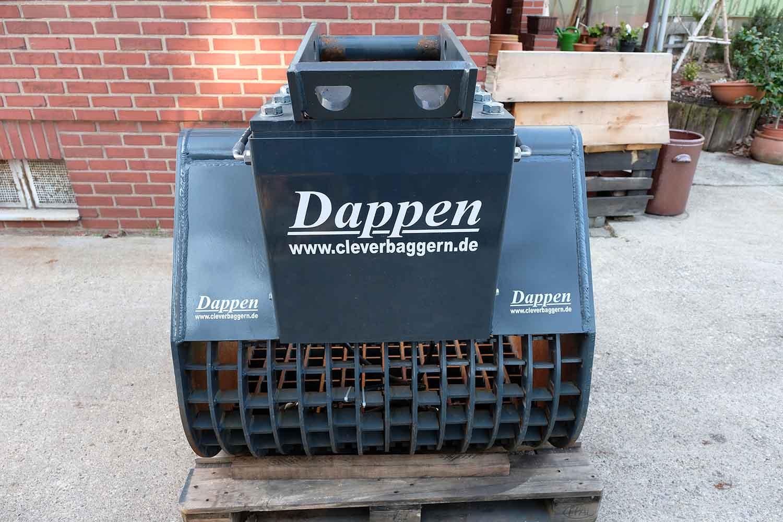 Dappen Werkzeug- und Maschinenbau | Produkte | Dappen Sieblöffel B28-1000-60S-W