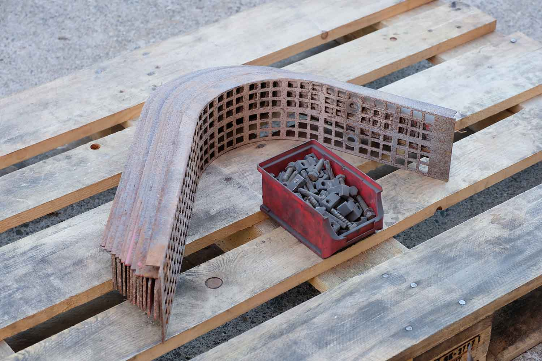 "Dappen Werkzeug- und Maschinenbau | Products | Replaceable screen ""Dappen for B18 – size 50 mesh"" Figure 2"