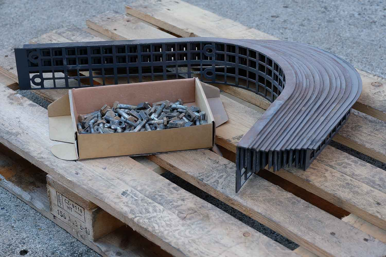 "Dappen Werkzeug- und Maschinenbau | Products | Replaceable screen ""Dappen for B24 – size 50 mesh"" Figure 2"