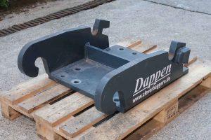Dappen Werkzeug- und Maschinenbau | Produkte Dappen Adapterplatte Verachtert CW40 | dunkelgraue Adapterplatte