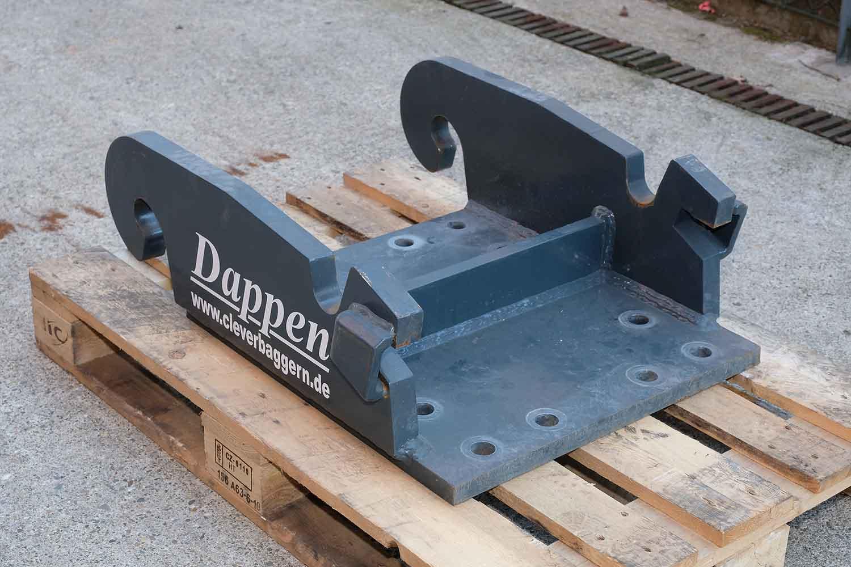 Dappen Werkzeug- und Maschinenbau | Products Dappen adapter plate Verachtert CW40 | dark grey adapter plate Figure 3