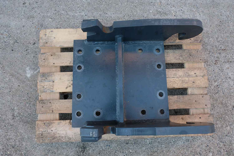 Dappen Werkzeug- und Maschinenbau | Products Dappen adapter plate Verachtert CW40 | dark grey adapter plate Figure 2