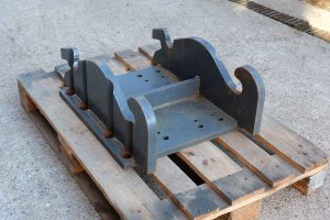 Dappen Werkzeug- und Maschinenbau | Produkte Dappen Adapterplatte Verachtert CW40S | graue Dappen Adapterplatte