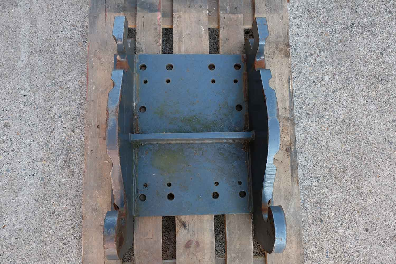 Dappen Werkzeug- und Maschinenbau | Produkte Dappen Adapterplatte Verachtert CW40S | graue Dappen Adapterplatte Bild 3