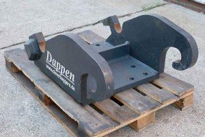 Dappen Werkzeug- und Maschinenbau | Produkte Dappen Adapterplatte Verachtert CW45S | graue Dappen Adapterplatte Verachtert