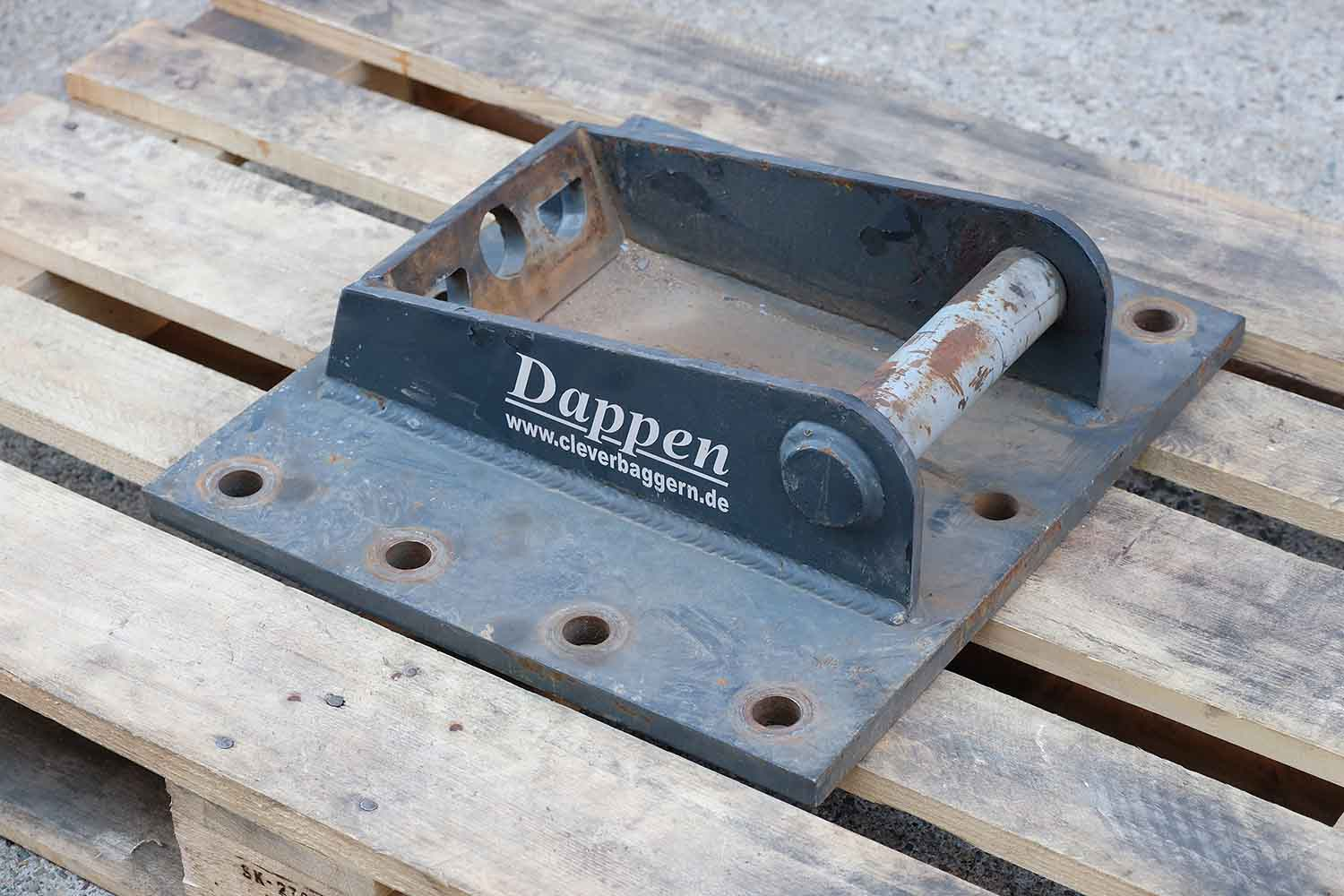 "Adapter plate ""Dappen Lehnhoff MS03"""