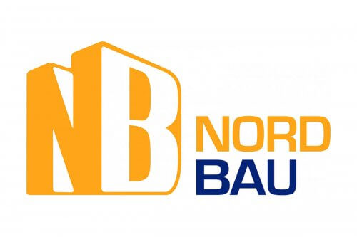 Dappen | Nordbau Messe 2020 Logo | Logo in gelb blau