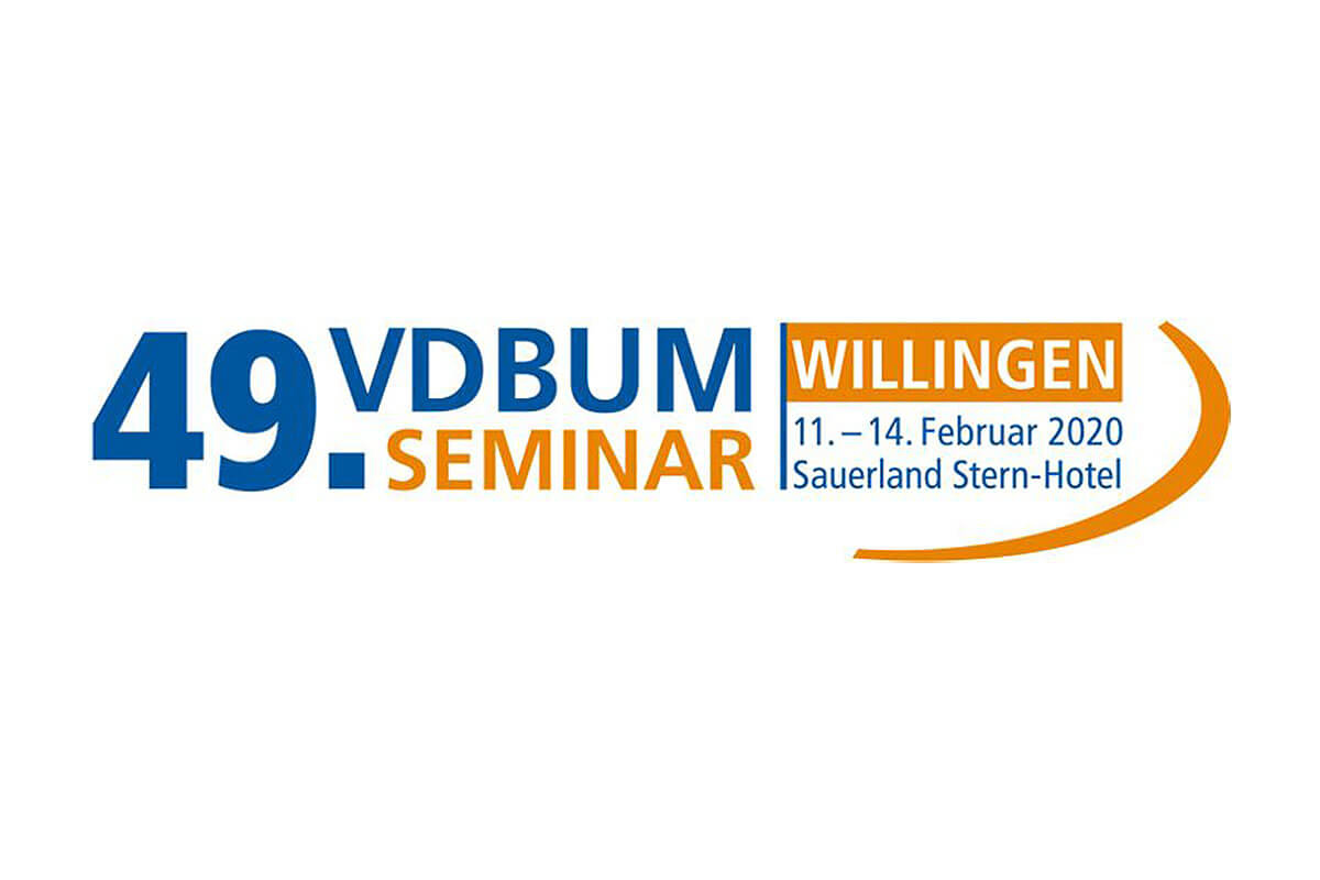 Dappen | 49. VDBUM Seminar 2020 in Willingen Logo